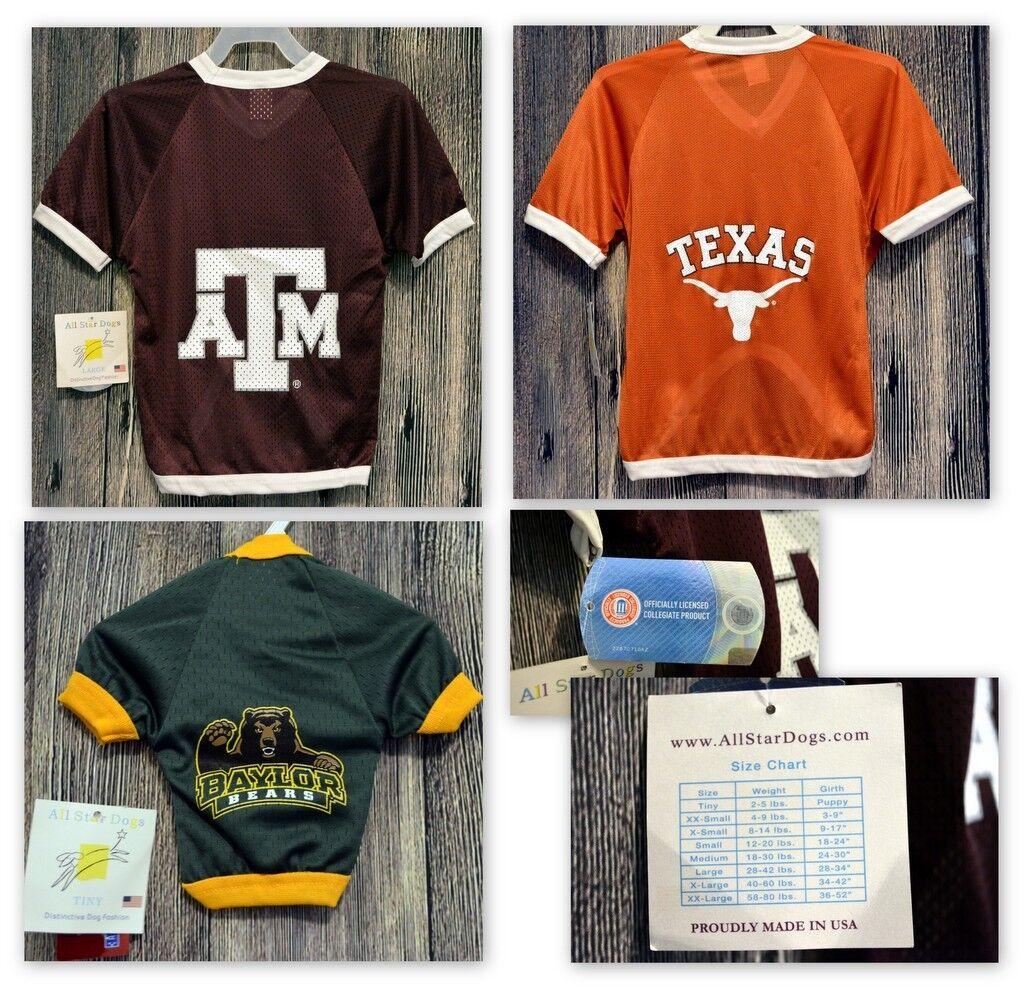 College Team Dog Shirt Fan Apparel Sports Fan- Pet Clothing