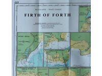 Marine charts covering East coast and Caledonian canal