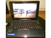 Asus T100 CHI laptop / tablet Full HD Intel 4 cores 2GB Windows 10 excellent condition BOXED!