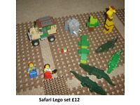 Lego safari bundle as seen in picture £12 collection from didcot from a smoke and pet free home