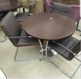 3 chairs and table
