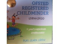 Ofsted register childminder have spaces in Dagenham