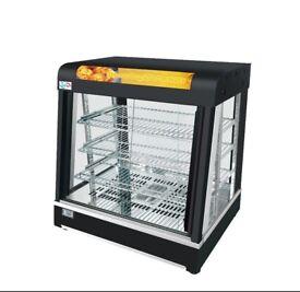Hot Food Warming Display Showcase bv-808b Warming Showcase