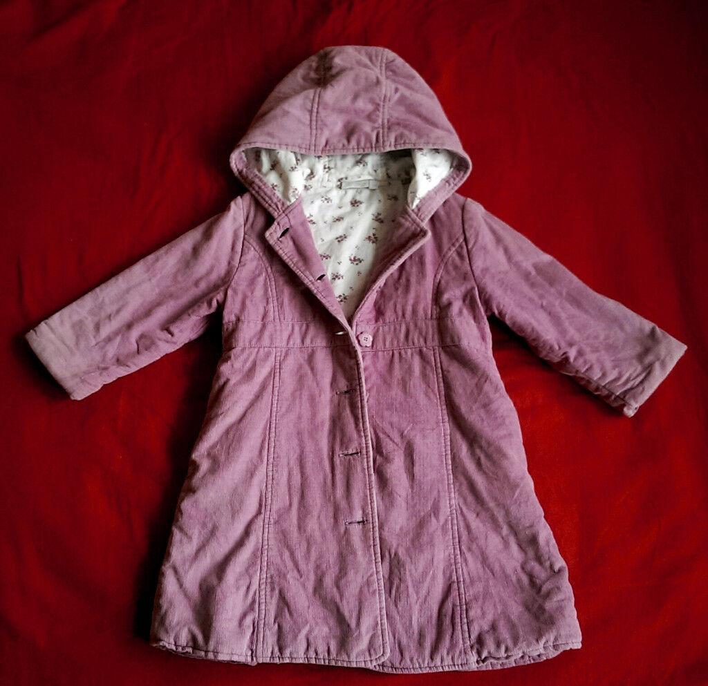 41f0ee694 Jojo Maman Bebe cord coat size 3-4 years