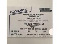 COURTNEY ACT MEET & GREET VIP TICKETS!!