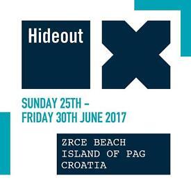 Standard hideout ticket for sale