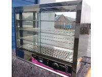 catering equipment / Heated Display Cabinet / pie warmer