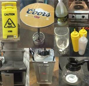 Online-Only Auction for Restaurant Equipment & Smallwares -- Residential & Commercial Supplies