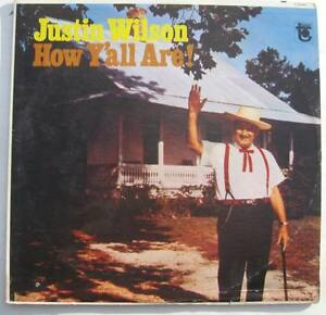 Justin-Wilson-HOW-YALL-ARE-vinyl-LP-Tower-T-5090-Cajun-Comedy-NM