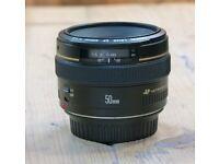 Canon EF 50mm f/1.4 Lens - LIKE NEW!