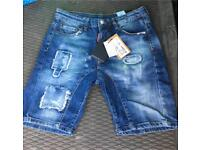 DSQUARED jean shorts new rider style
