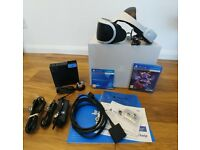 PlayStation VR headset (in excellent condition)