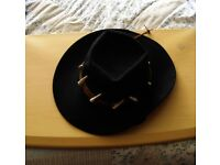 Cowboy Hat, Large Size, fits most men. Made in U.S.A