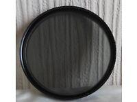 Hoya Circular Polarising Filter 58mm.