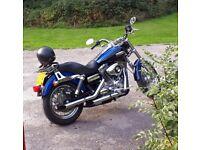 Harley-Davidson, DYNA SUPER GLIDE, 2009, 1584 (cc)