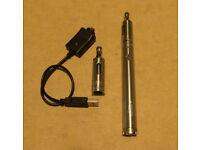Vision spinner v2 e cig with 2 tanks
