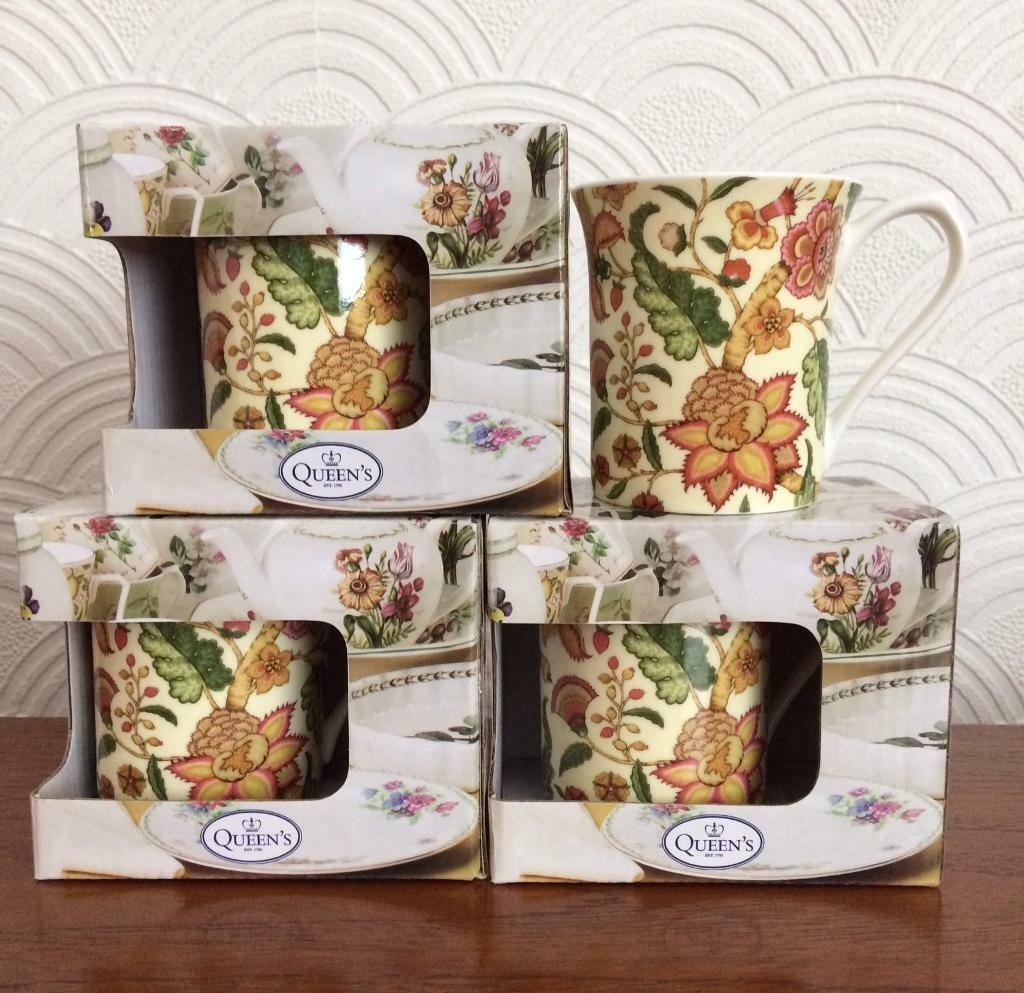 Sanderson exclusively by Queens China Mugs