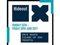 1 x Hideout Festival ticket - Croatia
