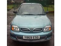 12 MONTHS MOT NISSAN MICRA VIBE 1.0 MINT DRIVE 94000 MILES 9 YEARS OWNED