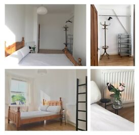 EXTRA LARGE double bed in victorian 2-bed