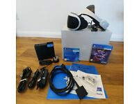 PlayStation VR Headset in excellent condition