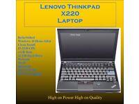 Lenovo Thinkpad X220 Laptop i5 2.5-3.2GHz CPU 4GB RAM 3G Card Refurbished Hardly Used (21)