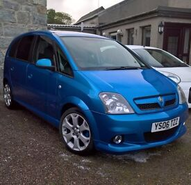 Vauxhall Meriva VXR 2006