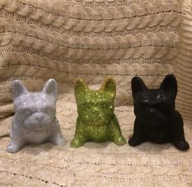 French bulldog bling glitter gift/ornament/xmas