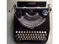 Fantastic Vintage OLIVETTI Ico portable typewriter