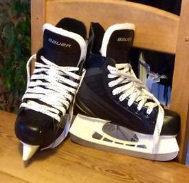 Bauer Ice skates.