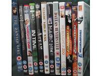 150 DVDs including some box sets.