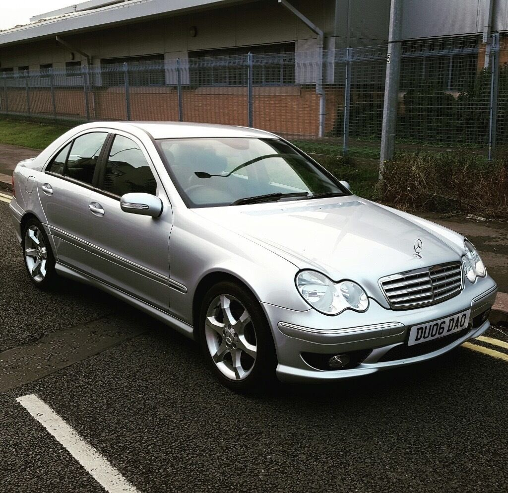 mercedes c220 cdi sport edition w203 2006 06 in grangetown cardiff gumtree. Black Bedroom Furniture Sets. Home Design Ideas