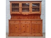 Solid Pine Dresser/Sideboard (DELIVERY AVAILABLE FOR THIS ITEM OF FURNITURE)