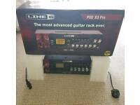 "MINT & BOXED Line6 POD X3 Pro Rack Line 6 Guitar Studio 19"" Rack Pre Amp FX Processor : TRADES???"