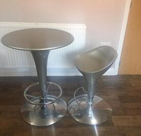 Breakfast table and stool