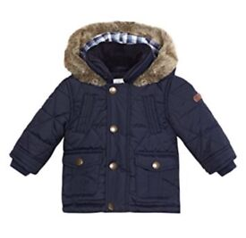 Jasper Conran baby coat and shoes BRAND NEW 0-3