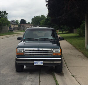 FORD EXPLORER 1994 XLT AS-IS (try your trades)