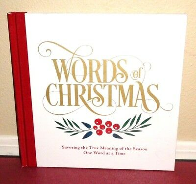 Words of Christmas Savoring True Meaning of Christmas 2015 1STED LDS Mormon HB ()