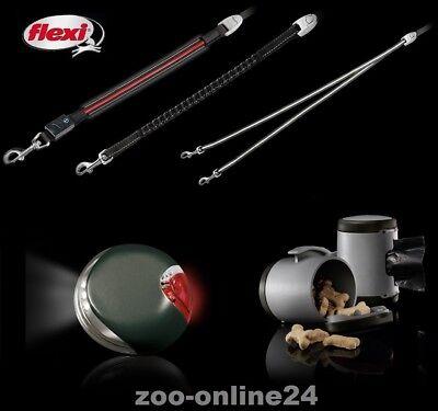 Flexi-Zubehör für VARIO & New-Classic, Seil-Gurt-Hunde-Automatik-Roll-Leine