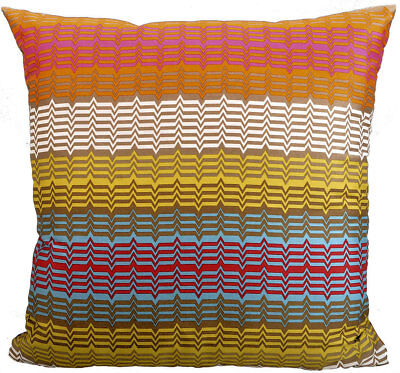 MISSONI HOME CUSHION COVER TED 141 ROSE GARDEN COLLECTION 100% COTTON 16 x 16 in Missoni Home Garden