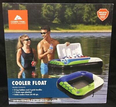 Ozark Trail Cooler Float 24-48 Qt Caddy With 2 Cup Holders