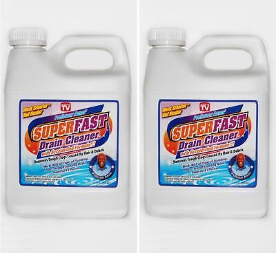 Professor Amos' Superfast 2 Pack, Drain Cleaner & Opener