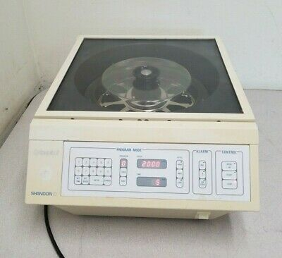Shandon Cytospin 3 Cell Preparation System 74000102 And Rotor