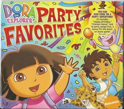 Dora Party Favorites by Dora the Explorer (CD, 2008, Sony Music Distribution (US