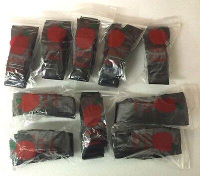 Top Quality Bag 3434 Black Color 1000 Apple Brand Mini Zip Lock Baggies