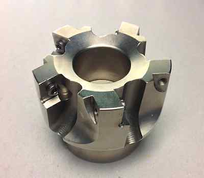 2.5in. Indexable Face Mill 0.750in. 5-flute Pilot Diameter Sonx 1205