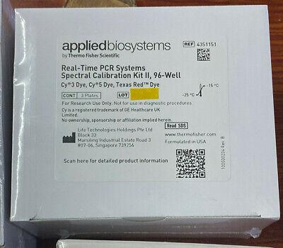 Neu Applied Biosystems Abi 7500 Pcr System Kalibration Set 4351151 Plus 4349180