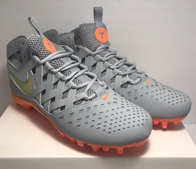 beca41b505e Nike Mens Size 11.5 Huarache V Elite LE Thompson Brothers Lacrosse Gray  857036.  . 49.99