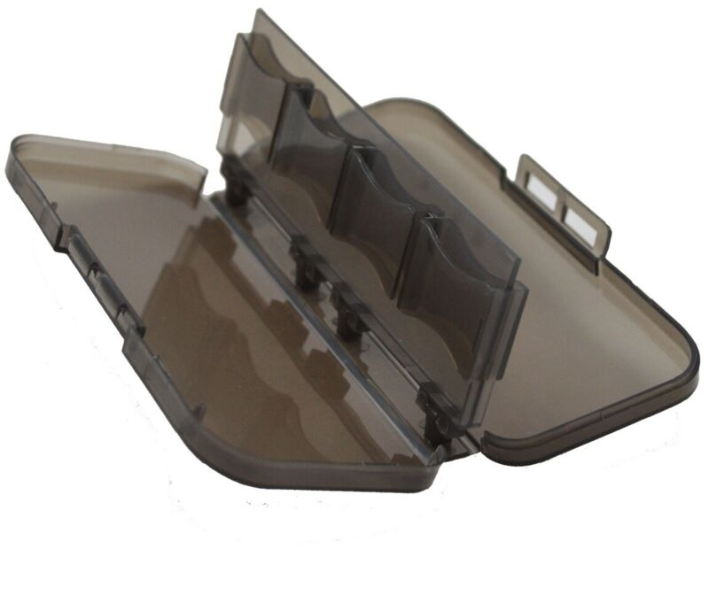 HOT Mini Plastic 8 slots Micro SD TF MS Memory Card Storage Holder Box Case
