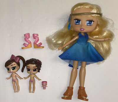 Boxy Girls Lot Willa 8 inch Doll With Small Dolls & Pair Of Shoes